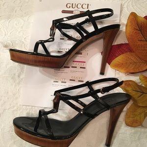 Gucci heels!